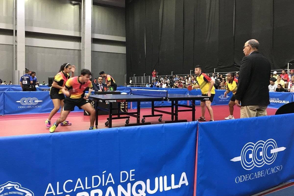 Puerto rico asegura medalla de oro en tenis de mesa metro for Puerto rico juego de mesa