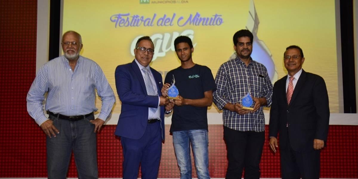 """Fundación Municipios Al Día entregó premios """"Festival del Minuto Agua 2018"""""""