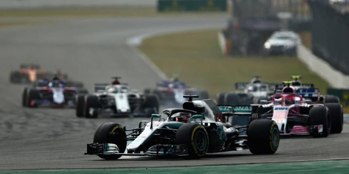 Golpe en la F-1: Hamilton aprovecha el increíble choque de Vettel y gana el GP de Alemania