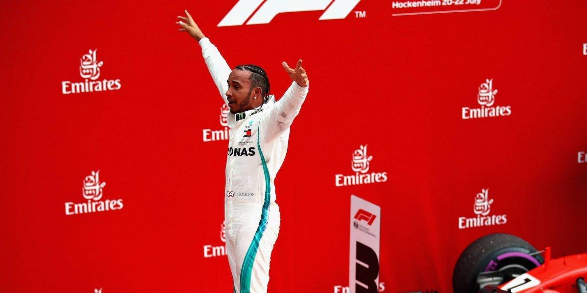 Lewis Hamilton se impone en el GP de Alemania