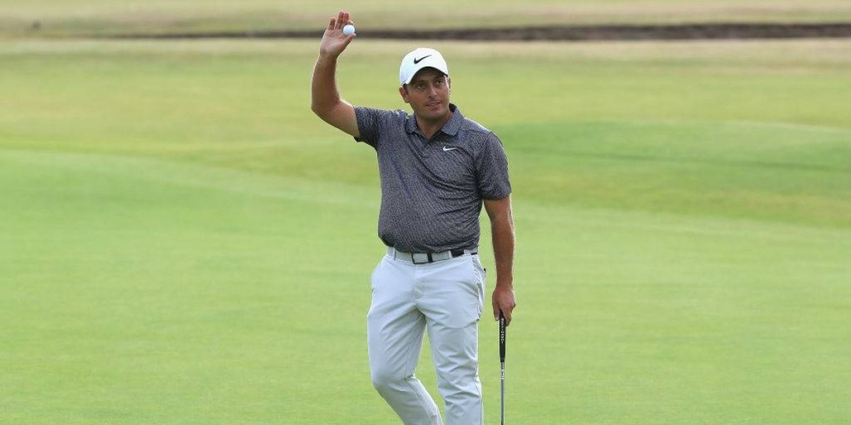 El italiano Francesco Molinari hace historia al ganar el Abierto Británico de golf