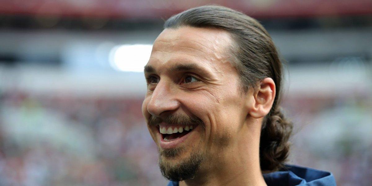 """El """"loquillo"""" Zlatan Ibrahimovic: """"Si hubiese llegado antes a la MLS, ya sería el presidente de Estados Unidos"""""""