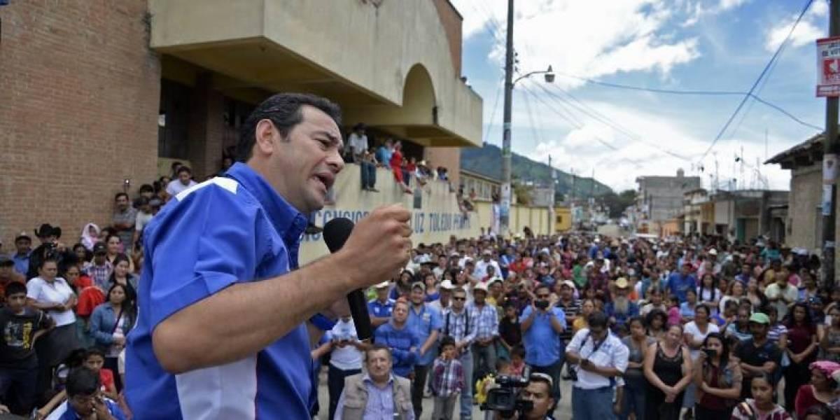 Campaña política Jimmy Morales