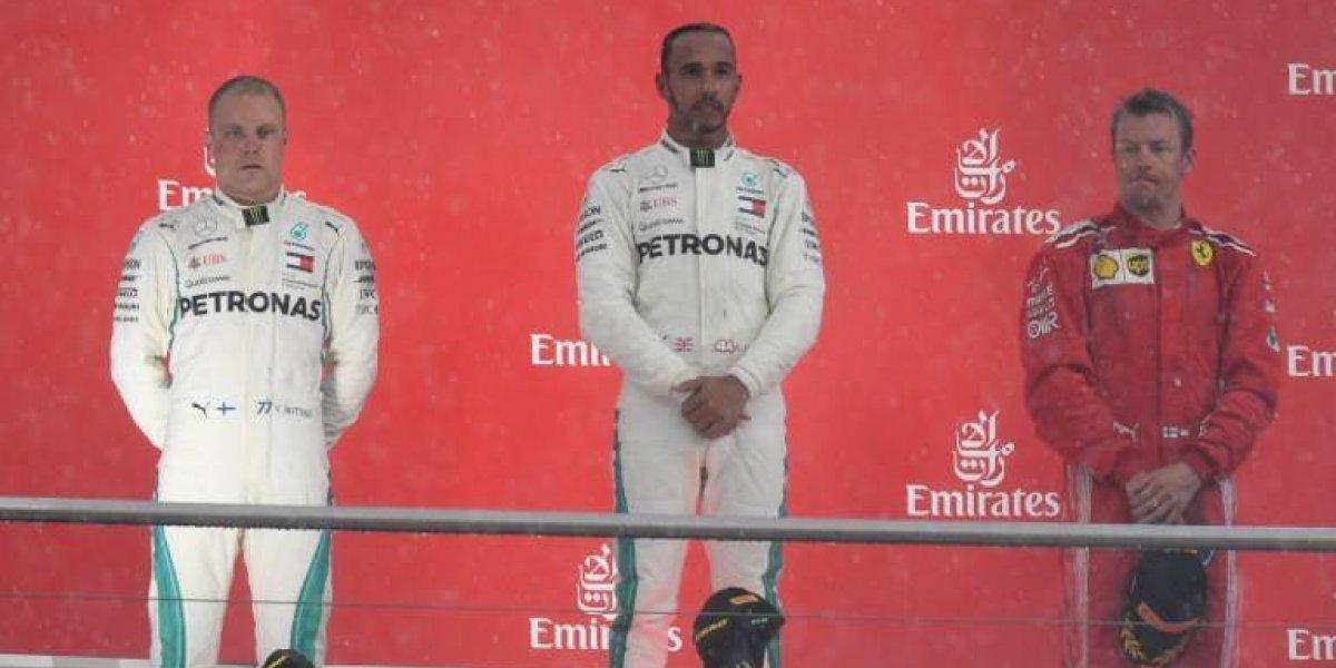 Hamilton se lleva el triunfo en Alemania y nuevamente es líder de la Fórmula Uno