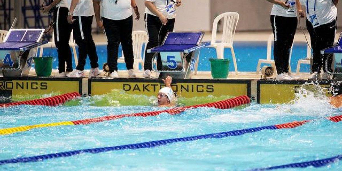 El nadador Martínez se cuelga la medalla de plata en Barranquilla 2018