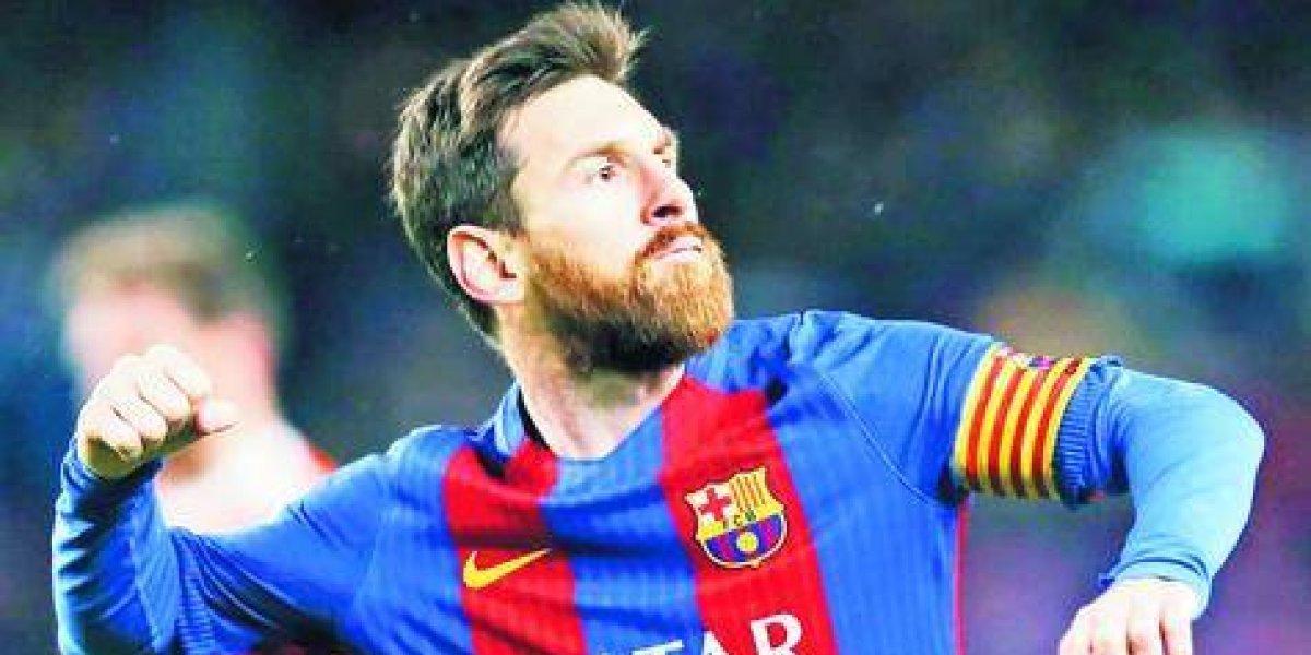 Messi, elegido el mejor de todos los tiempos