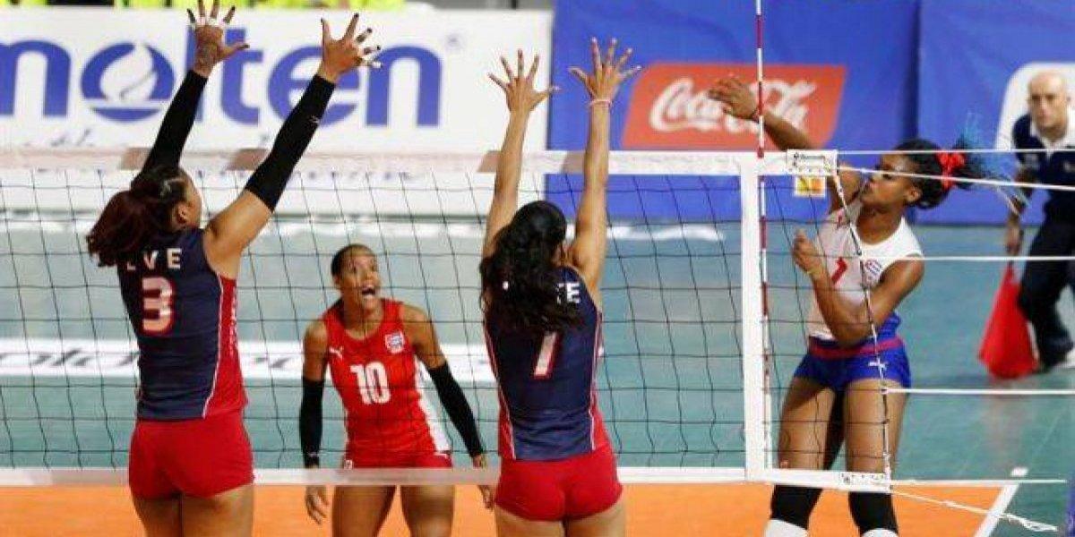 México se impone a Venezuela y Puerto Rico a Costa Rica en el voleibol