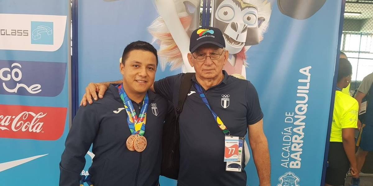 Guatemala es el mejor país centroamericano en Barranquilla 2018