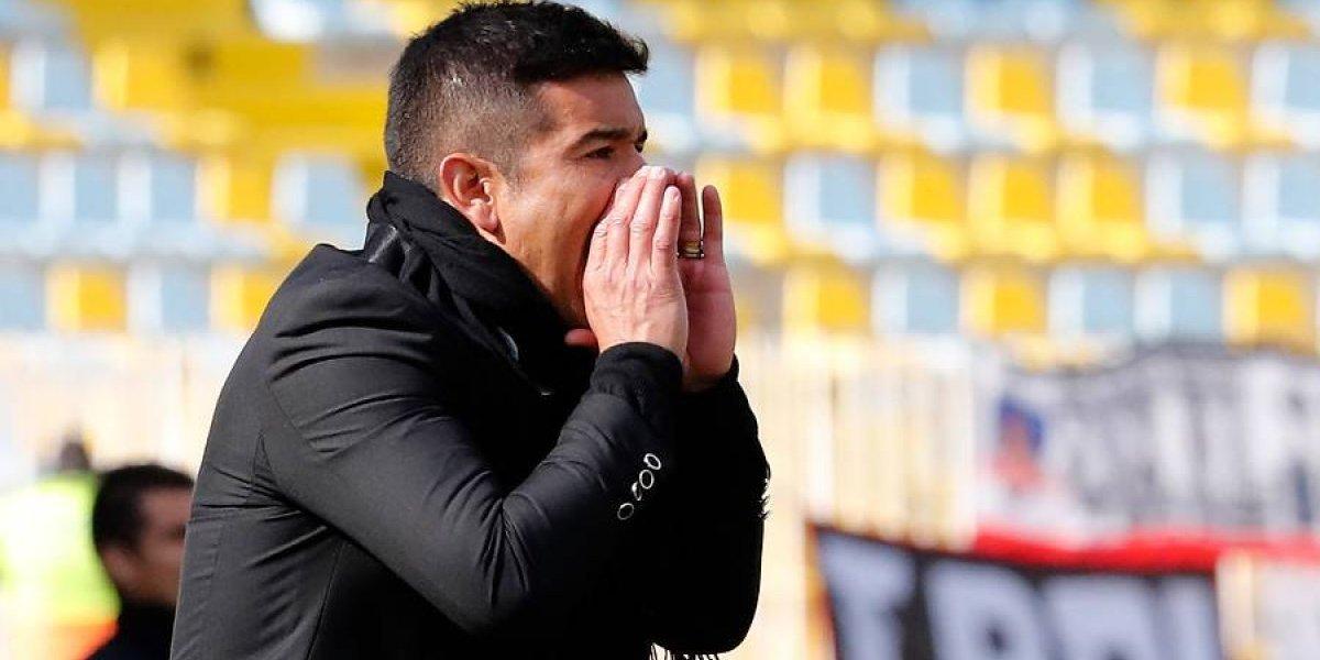 """El duro reclamo del DT de La Calera: """"Hay una regla para nosotros y otra para Colo Colo"""""""