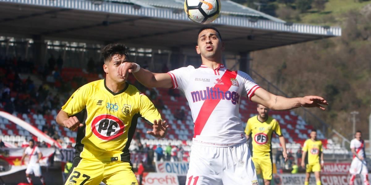Curicó logró un triunfazo en el último minuto y complicó con el descenso a San Luis
