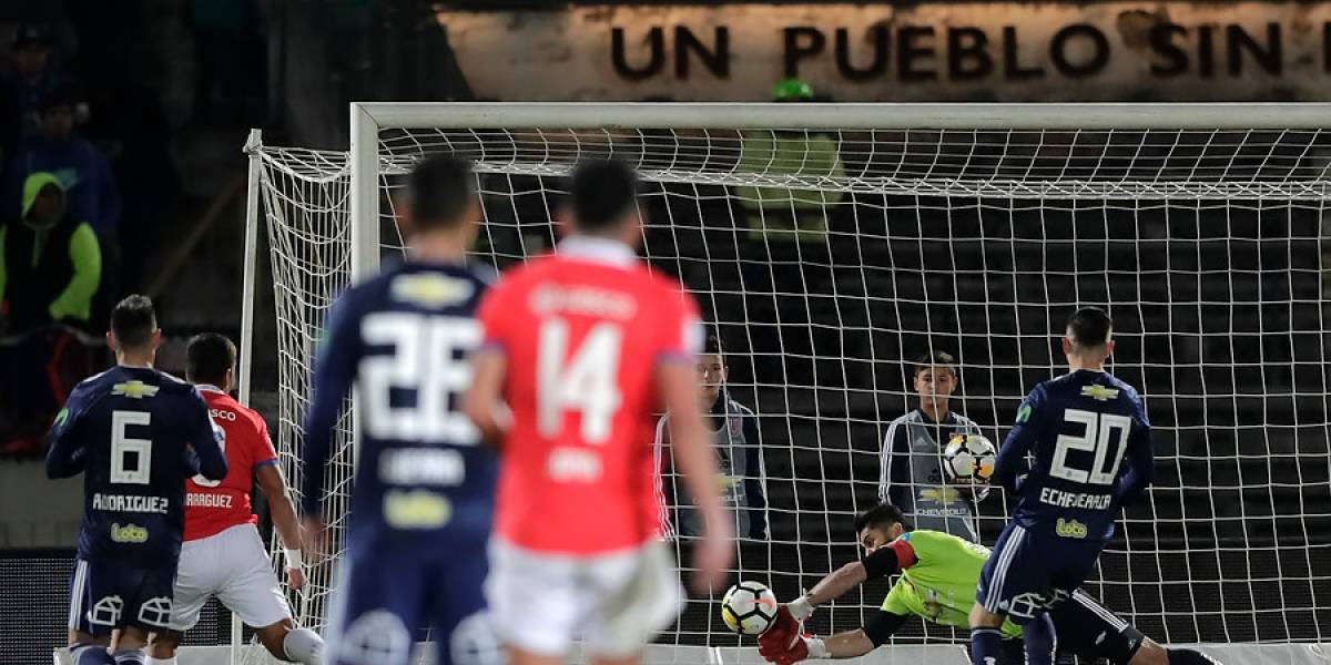 La U de Kudelka se durmió en casa y cedió un costoso empate ante Huachipato