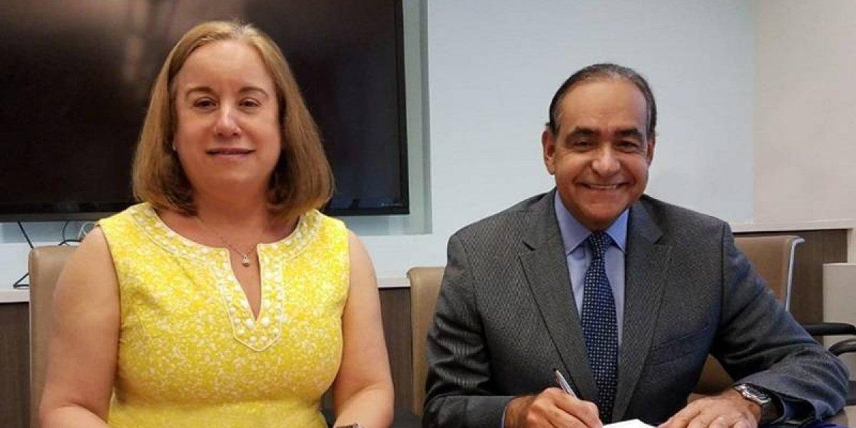 HGPS firma convenio con Fundahígado America Foundation
