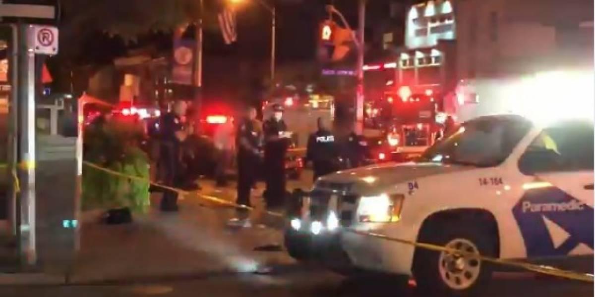 Tiroteo en un restaurante en Toronto deja 4 fallecidos y al menos 10 heridos