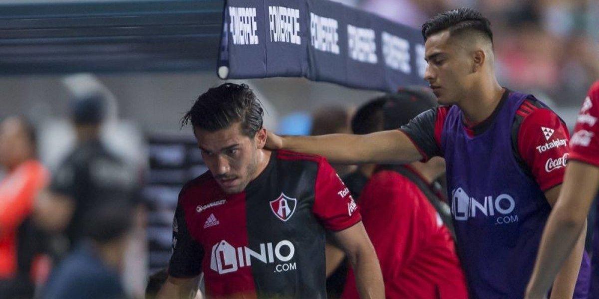 Juan Pablo Vigón se siente protegido por sus compañeros del Atlas