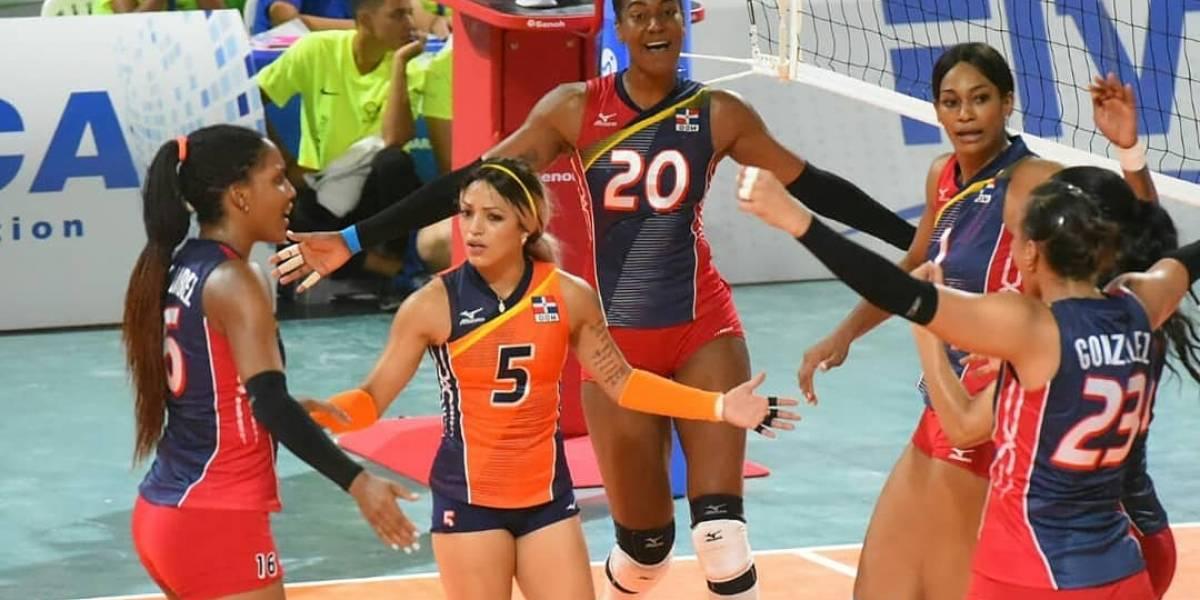 RD consigue segunda victoria al vencer a Cuba en voleibol Centroamericanos y del Caribe