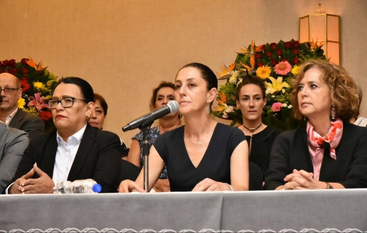 La Jefa de Gobierno electa de la coalición Juntos Haremos Historia. Foto: Especial