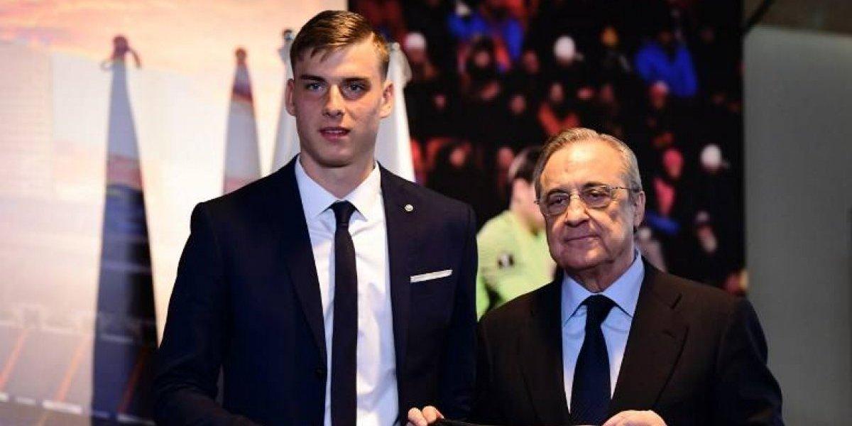 El Real Madrid sorprende y presenta a su nuevo portero