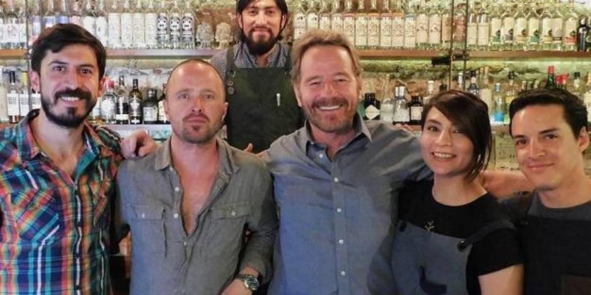 Actores de Breaking Bad andan de vacaciones en Oaxaca
