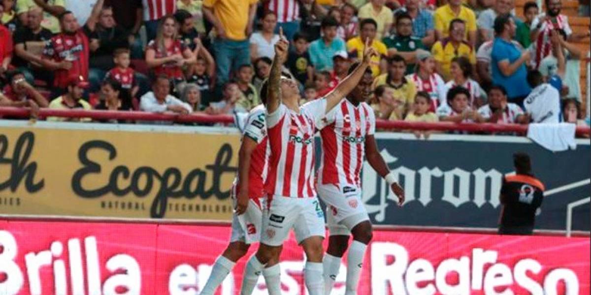 Víctor Dávila fue figura en el angustiante triunfo de Necaxa sobre América en la Liga MX