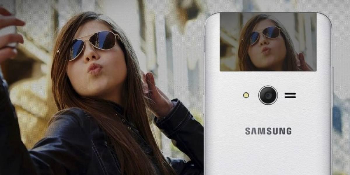 Samsung patenta un móvil con pantalla doble para selfies
