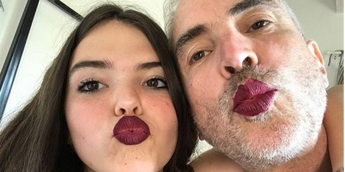 Hija de Alfonso Cuarón dirige a su padre en Instagram