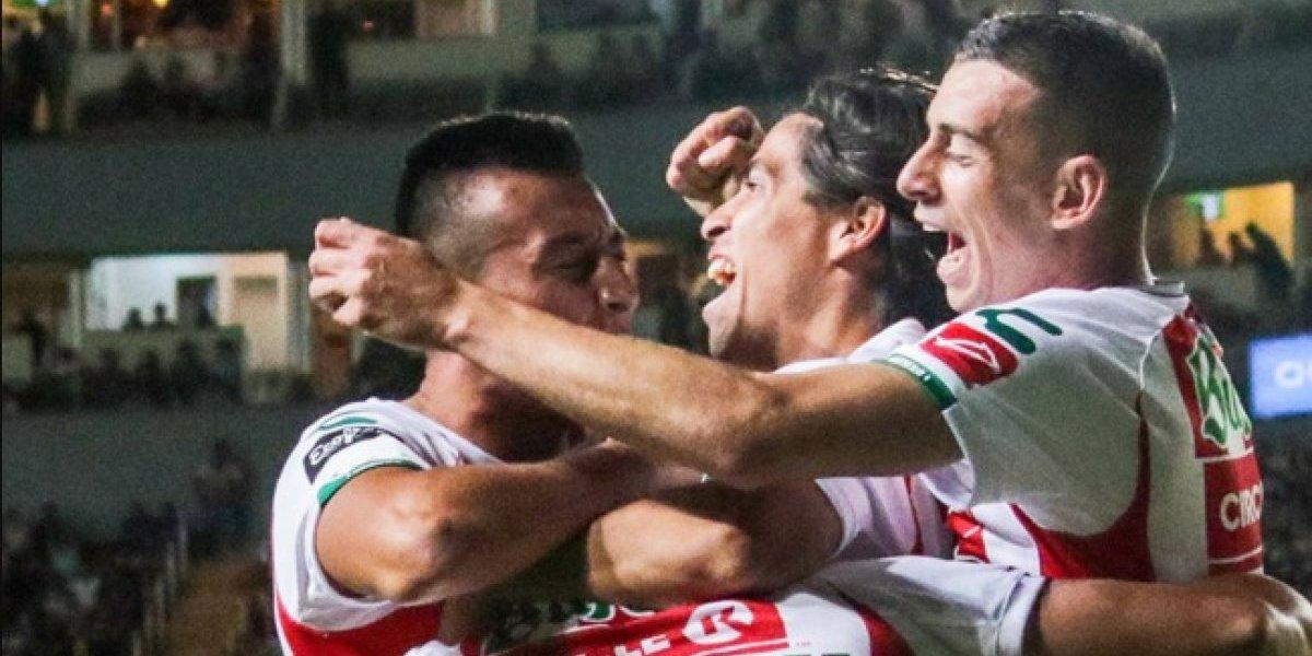 Víctor Dávila es figura y se ganó un puesto en el equipo ideal de la primera fecha del Apertura 2018