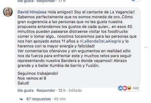 Críticas a la Vagancia por Quitofest