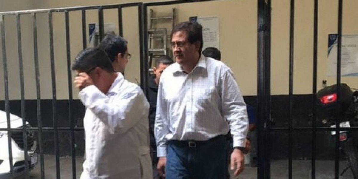 MP acciona contra medida que beneficia a Gustavo Alejos