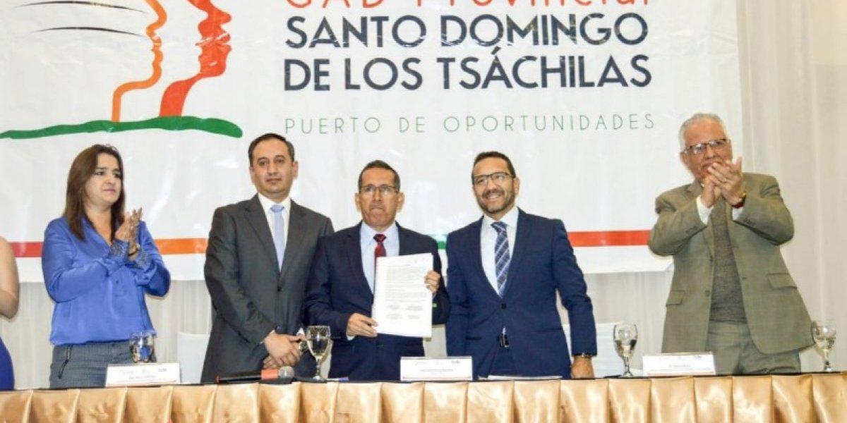 Se ampliará la vía de Alóag- Santo Domingo a cuatro carriles