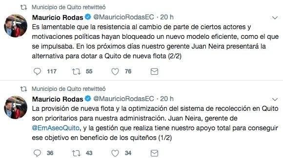 Alcalde Mauricio Rodas se pronuncia sobre la gestión del gerente de Emaseo