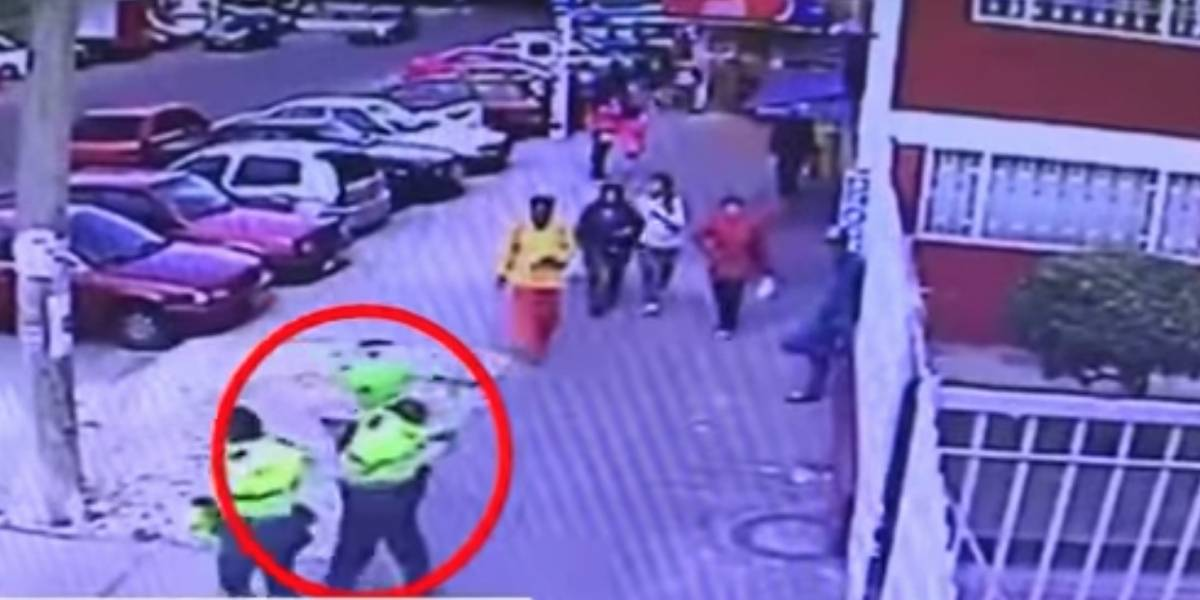 ¡Mala compañía! Policías escoltaron a mujer al banco y luego le robaron 90 millones