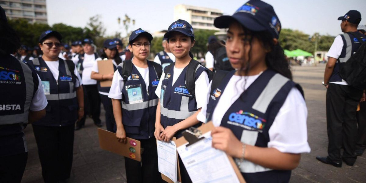 Arranca el Censo de Población y Vivienda 2018