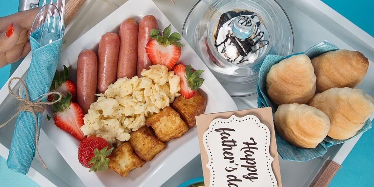 Desayunos ¡Consiente el paladar de Papá!