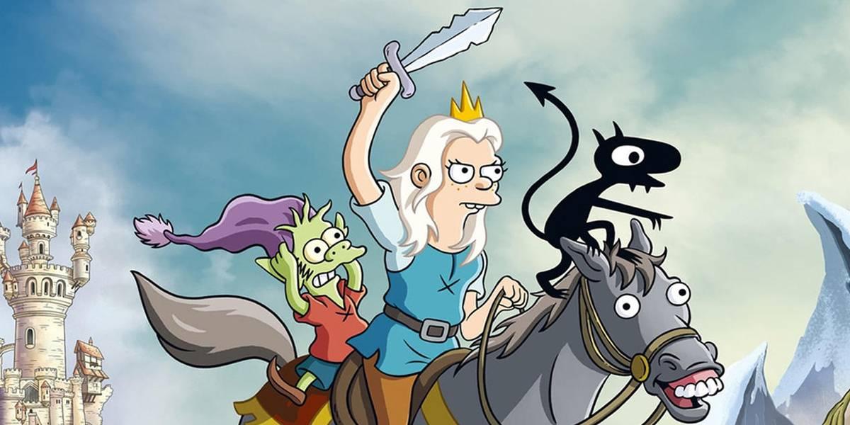 Matt Groening se burla de todo en el tráiler final de Disenchantment