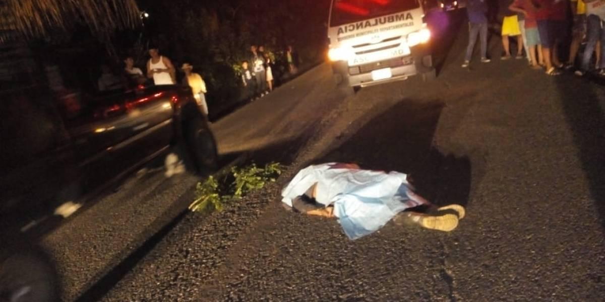 Incidentes viales y violencia dejaron dos muertos durante la noche del domingo
