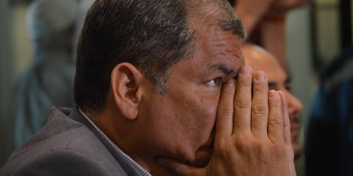 Rafael Correa se pronuncia ante eliminación de enmiendas aprobadas en 2015