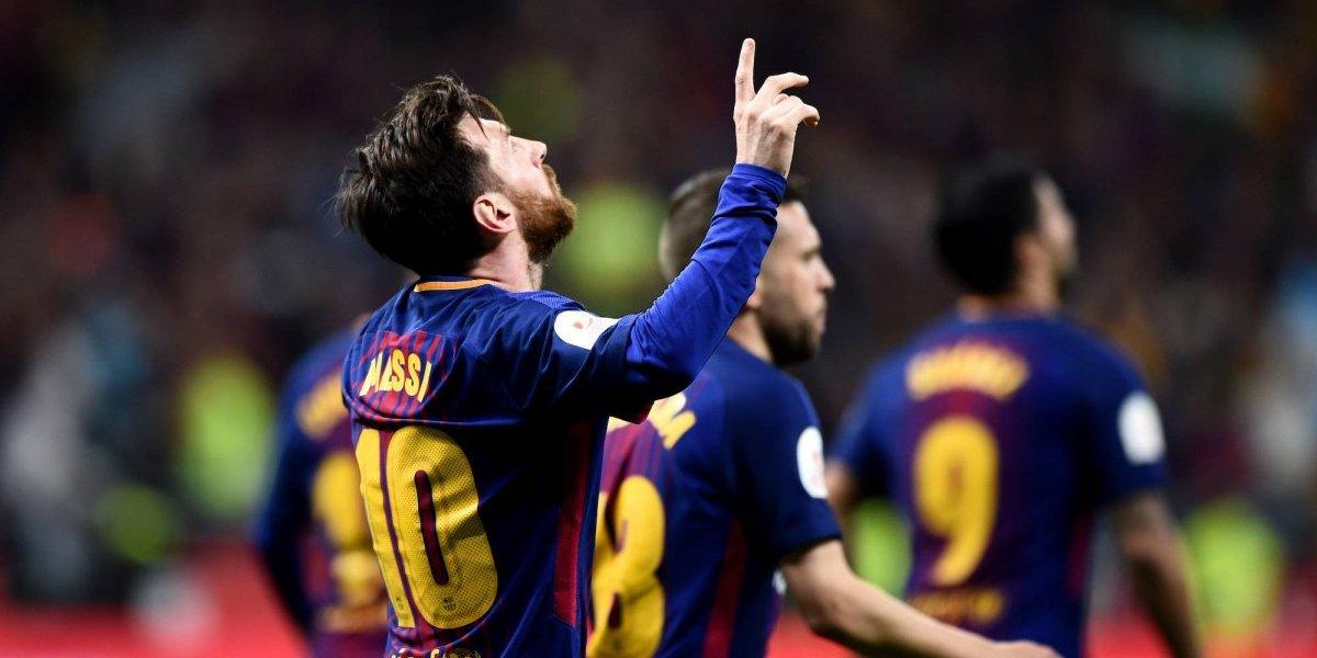 Messi consigue otra marca con el Barcelona