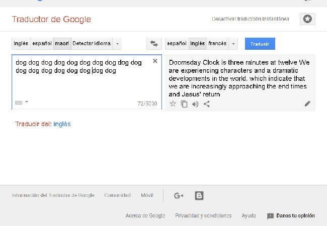 mensaje google