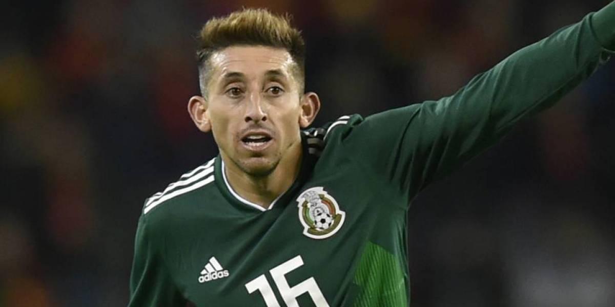 El futbolista mexicano Héctor Herrera se sometió a dos cirugías para cambiar su rostro