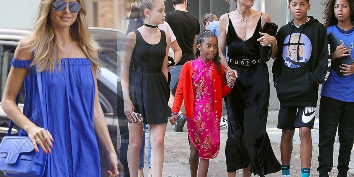 El contundente mensaje de Heidi Klum a quienes critican a sus hijas por usar tacones