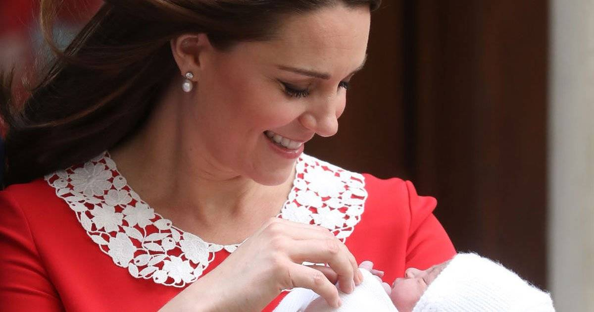 Kate Middleton e príncipe Louis