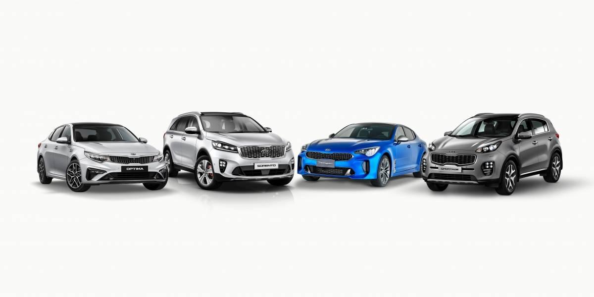 Kia Motors presenta nuevo modelos de alta gama para los amantes de lujo y el poder