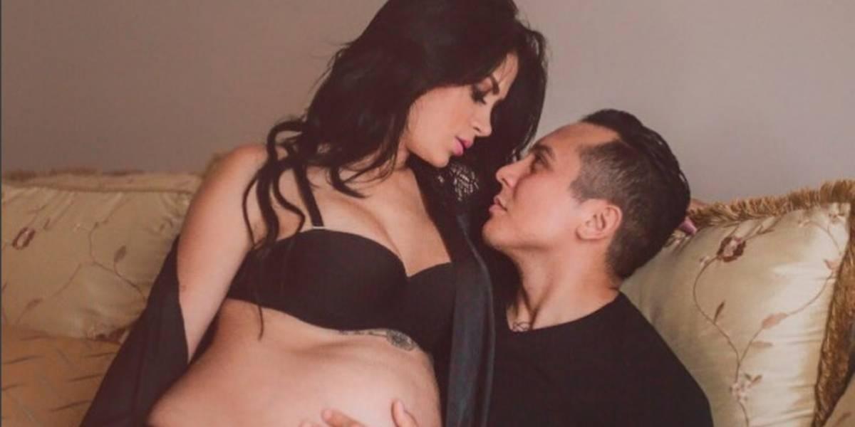 Modelo guatemalteca impacta con cuerpazo a 7 días de haber dado a luz a hija de Edwin Luna