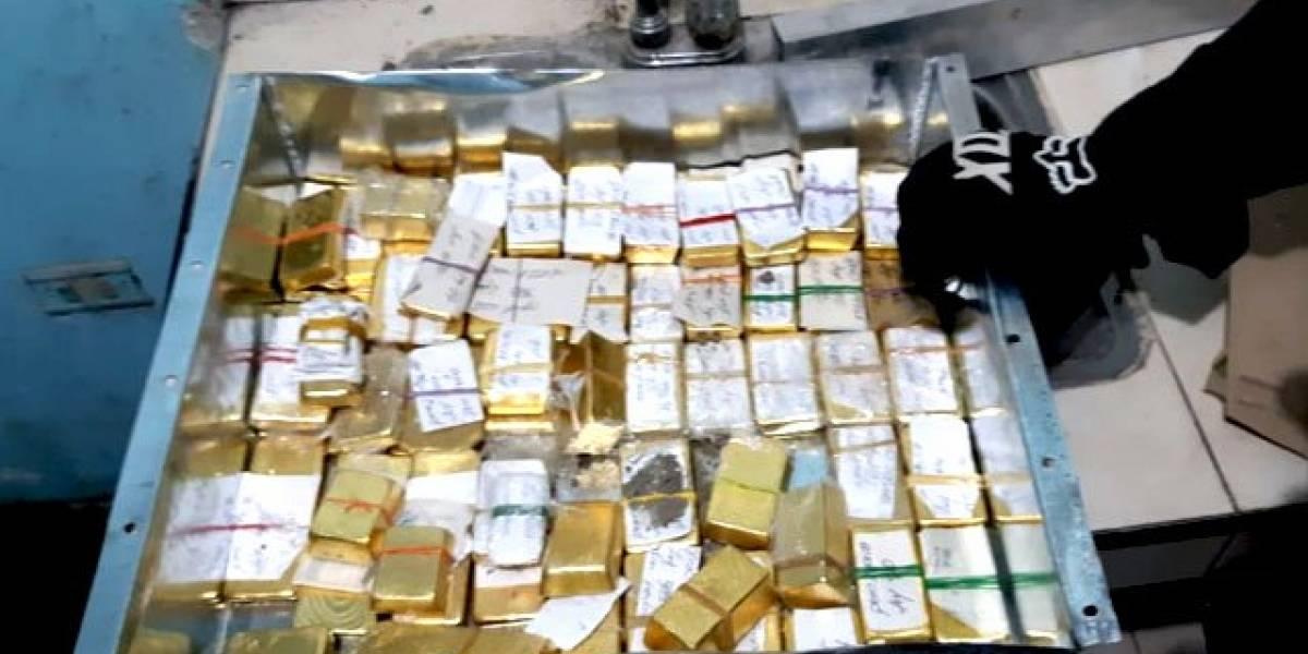 JUDICIAL - Incautan 54 kilos de oro en lingotes del Clan del Golfo
