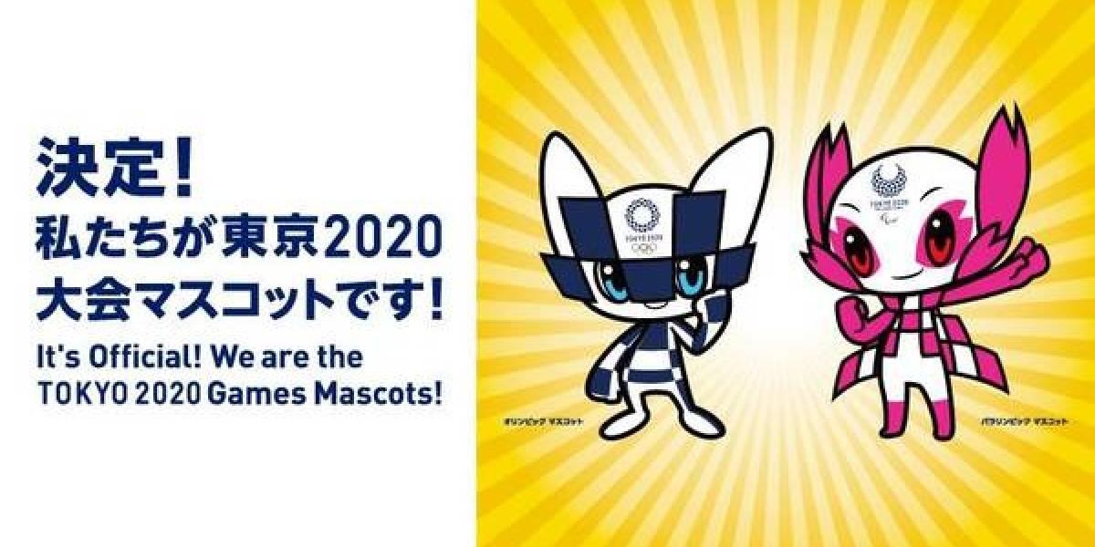 Mascotes das Olimpíadas de Tóquio 2020 são 'batizados'