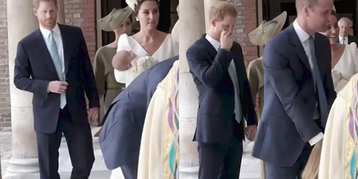 ¿Meghan Markle y el Príncipe Harry rompieron el protocolo?