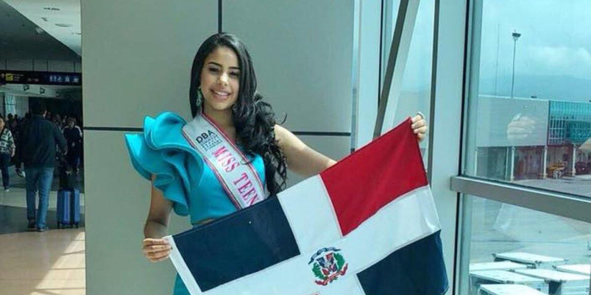 """""""Miss Teen RD"""" llega a El Salvador confiada en ganar la corona"""