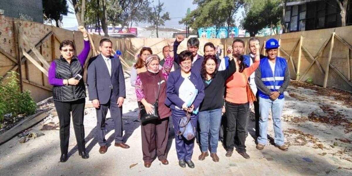 Damnificados del Multifamiliar ofrecen apoyo a estudiantes de la UNAM