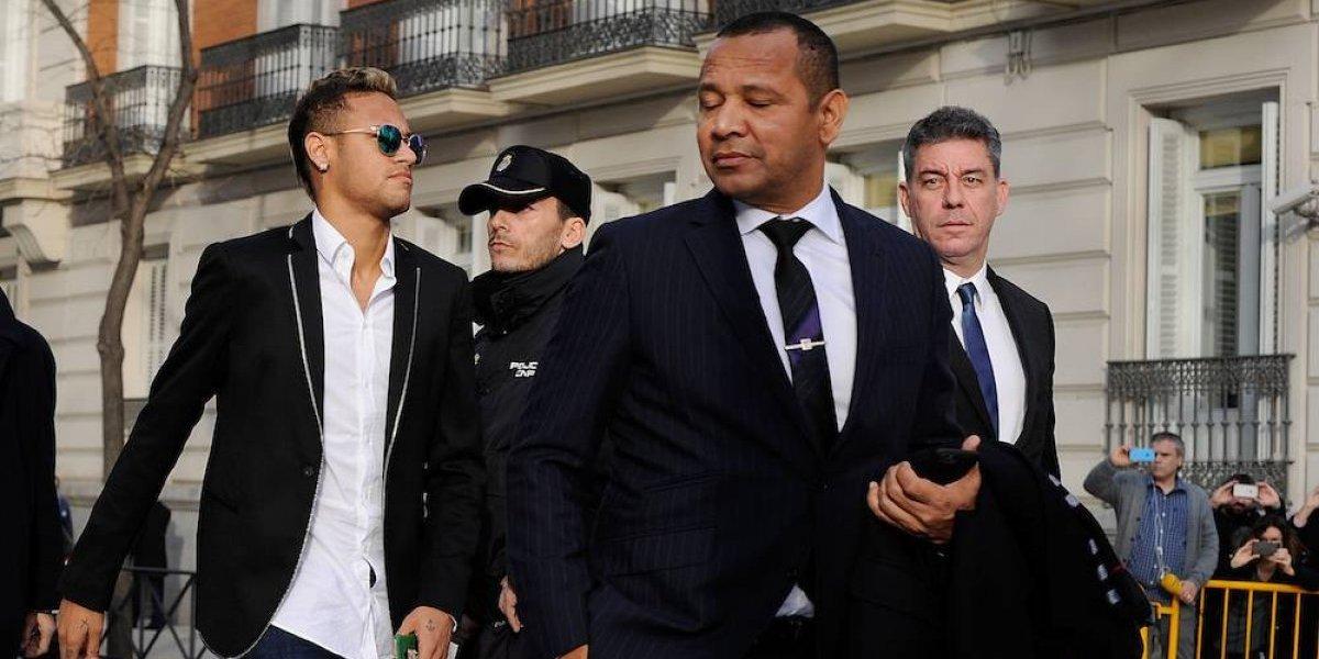 Padre de Neymar se puso grosero con reportera