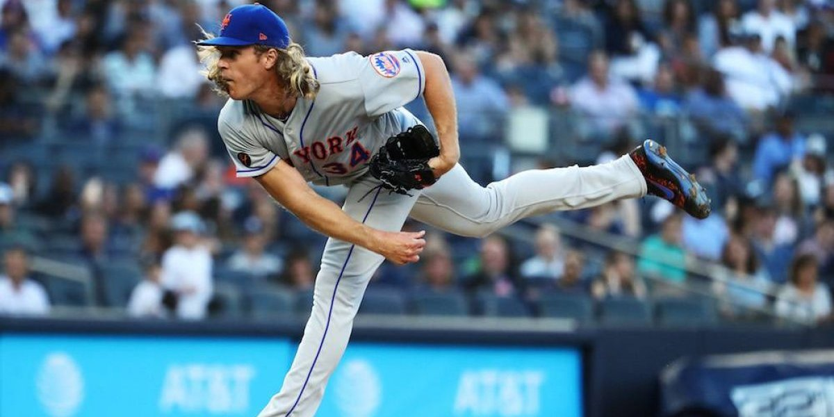 Pitcher de Mets Noah Syndergaard contrajo enfermedad de manos, pies y boca